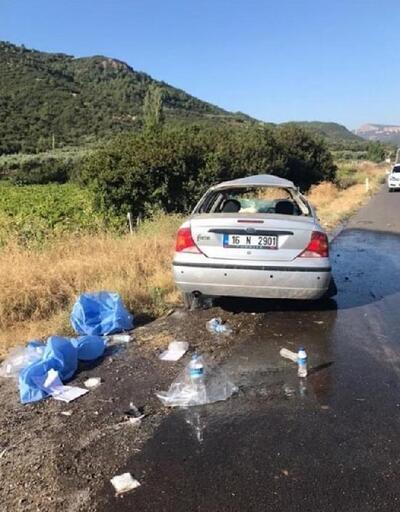 Otomobil takla attı: 2'si çocuk 6 yaralı