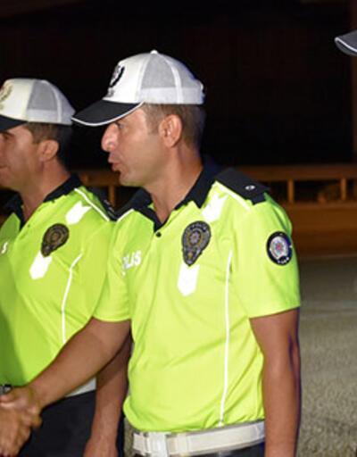 Emniyet Genel Müdürü Aktaş trafik denetimine katıldı