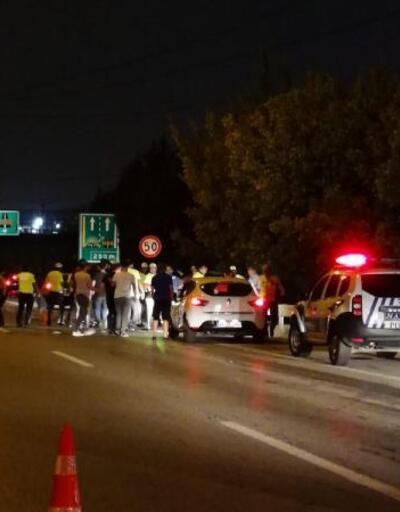 Motosikletli trafik polisi ağır yaralandı