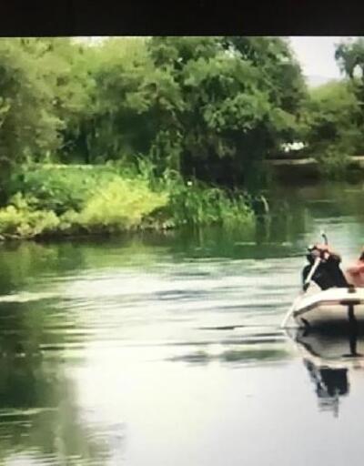Irmağa giren Afgan'ı dalgıçlar boğulmaktan kurtardı