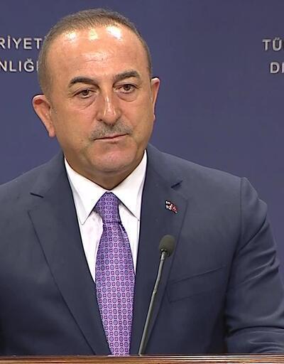 Son dakika... Dışişleri Bakanı Mevlüt Çavuşoğlu'ndan önemli açıklamalar