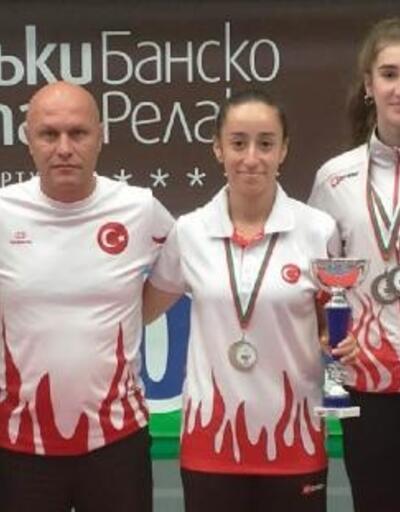 Milli badmintonculardan 2 altın ve 2 bronz madalya