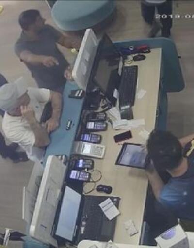 Ataşehir'de SİM kart baskını kamerada