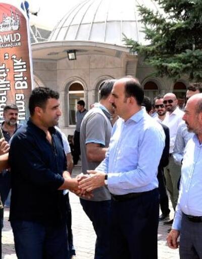 Konya Büyükşehir Belediye Başkanı Altay, Zafer Sanayi esnafıyla buluştu