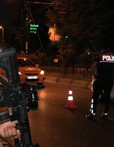"""İstanbul'da """"Yeditepe Huzur"""" asayiş uygulaması"""