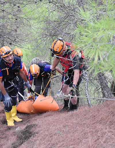 Bilecik'te kanyonda kaybolan kişinin cansız bedeni bulundu