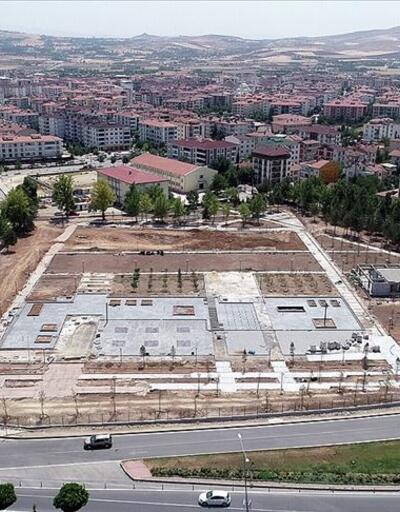 Bombalanan emniyet binası 'millet bahçesi'ne dönüşüyor