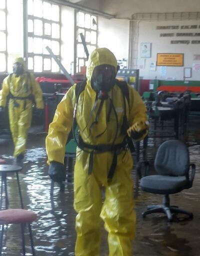 Sakarya'da su basan okulda kimyasal paniği
