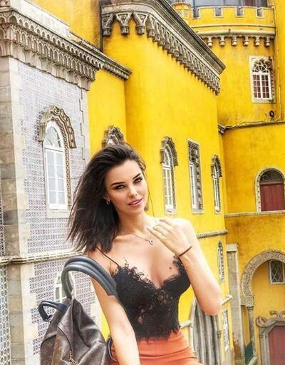 Tuvana Türkay'ın bikinili pozu olay oldu