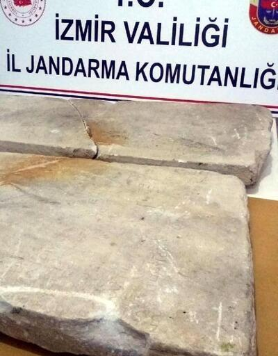 2 bin yıllık olduğu sanılan 2 ayrı kitabe ele geçirildi