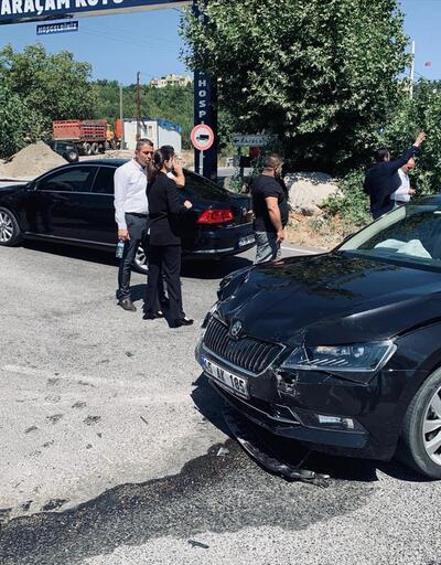 Son dakika... İzmir-Manisa yolunda kaza! Milletvekilleri yaralandı