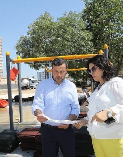 Sinanpaşa Parkı yenilendi