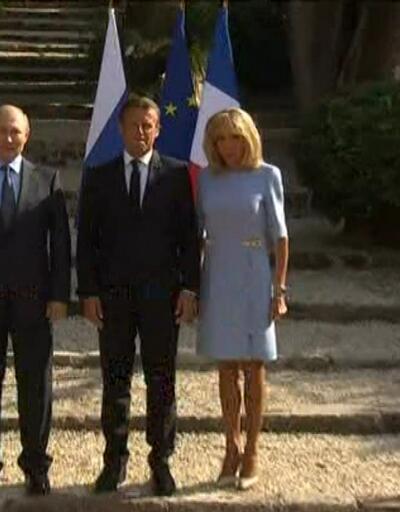 Putin - Macron restleşmesi