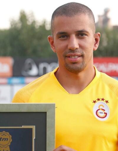 Sofiane Feghouli geçen sezonunun en iyi oyuncusu seçildi