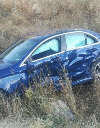 Gölova'da trafik kazası: 2 yaralı