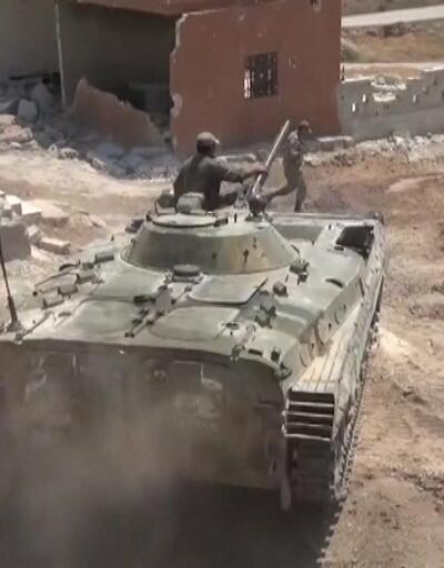 İdlib'de rejimin ilerleyişi devam ediyor