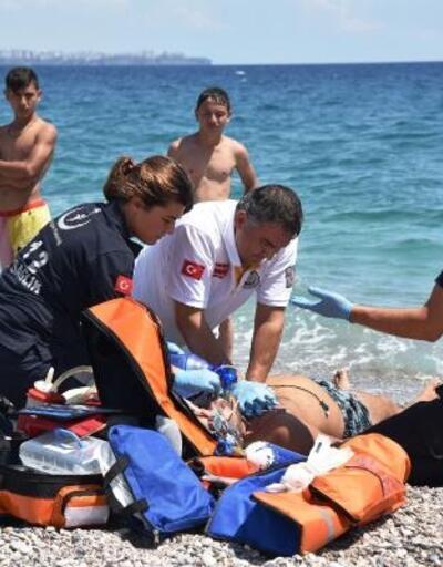 Sağlık ekiplerinin çabası boğulan kişiyi kurtarmaya yetmedi