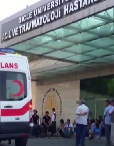 Son dakika... Diyarbakır'da silahlı kavga: 6 ölü, 7 yaralı!