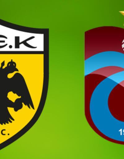 AEK Trabzonspor UEFA maçı ne zaman, saat kaçta, hangi kanalda?