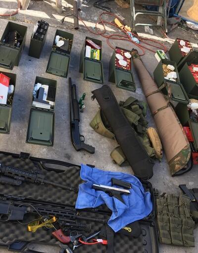 ABD polisi katliamı önledi: Hepsi aşçının evinde bulundu!