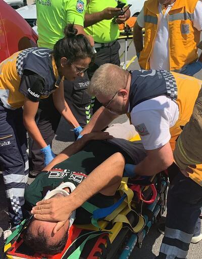 Sultanbeyli TEM otoyolunda zincirleme kaza: 3 yaralı