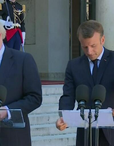 Johnson Paris'ten eli boş döndü