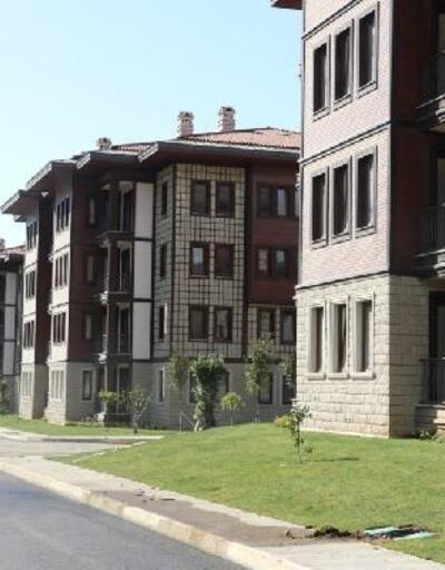 Rize mimarisinde yapılan konutları, Erdoğan açacak