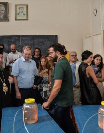 """Marmara Denizi'nin sualtı yaşamını anlatan """"Derin Akıntı"""" sergisi, Heybeliada Ruhban Okulu'nda açıldı"""