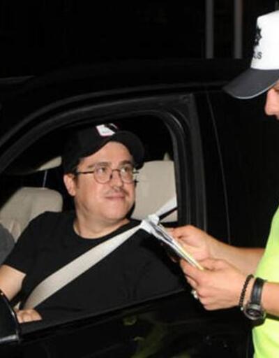 İbrahim Büyükak polis çevirmesine takıldı