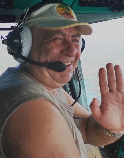 İzmir'deki yangın sonrasında ölen Ukraynalı pilota son görev