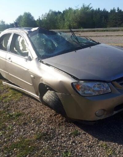 Bekçilik sınavına katılmak için yola çıkan iki arkadaşı kaza ayırdı