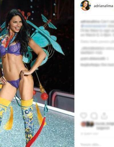 Adriana Lima'nın paylaşımı olay oldu