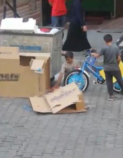 Kağıt toplayan çocukların bisiklet hayali gerçek oldu
