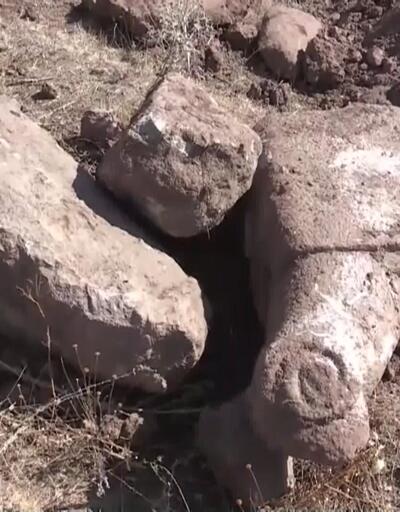 Toprak alırken tarih buldular