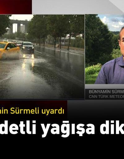Sürmeli uyardı! Şiddetli yağışa dikkat