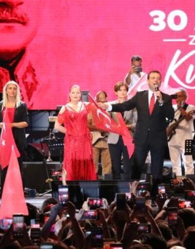 Üsküdar'da zafer bayramı coşkusu