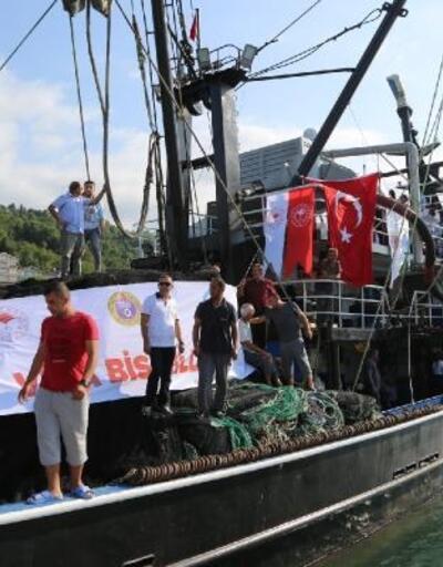 Ordulu balıkçılar denize açıldı