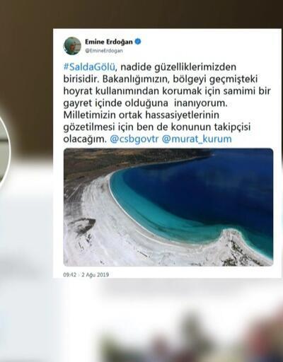 Emine Erdoğan 2 Eylül'de Salda'ya gidecek