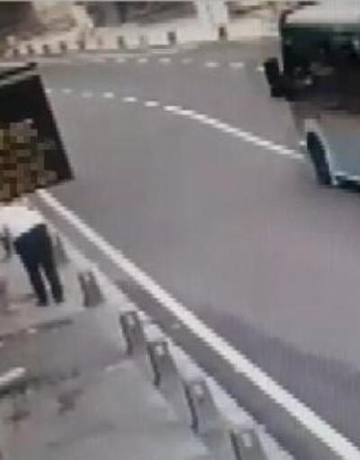 Ümraniye'de 6 kişinin yaralandığı kaza kamerada