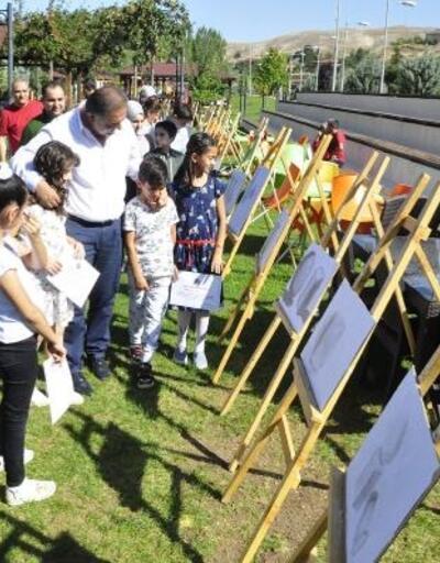 Gürün'de resim sergisi açıldı