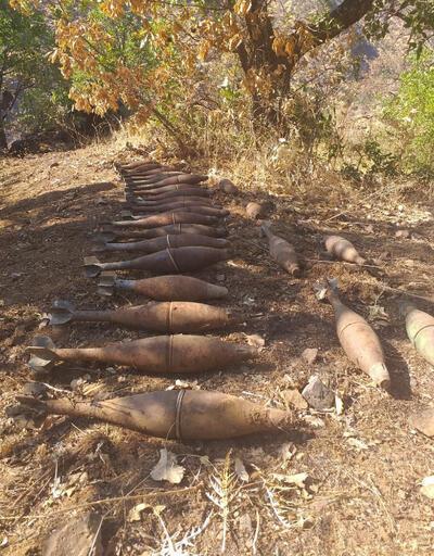 Pençe Harekâtı'nda 4 adet EYP ve 31 adet havan mühimmatı imha edildi