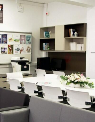 Yeni öğretmen odası modeli