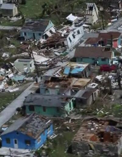 Kasırganın vurduğu Bahamalar'daki tablo dehşet verici