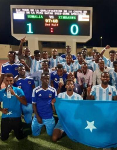 Somali'de yıllar sonra galibiyet sevinci