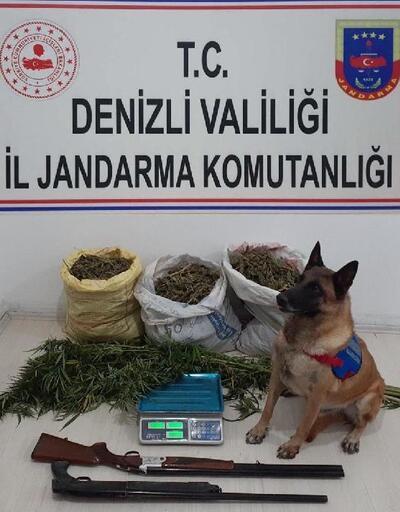 Denizli'de uyuşturucuya 1 tutuklama