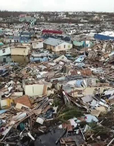 Bahamalar'da kasırga felaketi