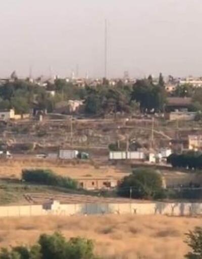 ABD konvoyunun Suriye'deki hareketliliği gündüz görüntülendi
