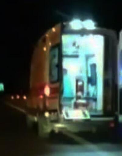 'Şoförüm' dedi, ambulansı kaçırdı