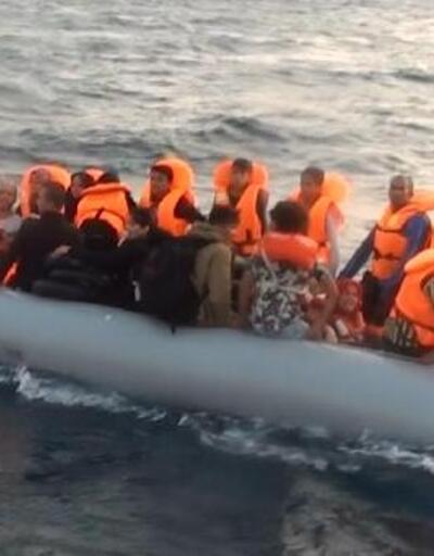 Çeşme'de 147 kaçak göçmen yakalandı