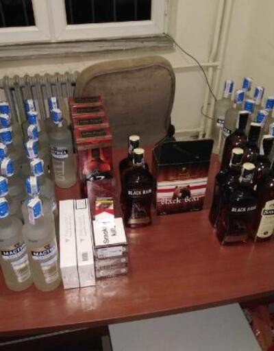 Hayrabolu'da kaçak içki operasyonu